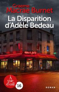 Couverture de l'ouvrage La Disparition d'Adèle Bedeau