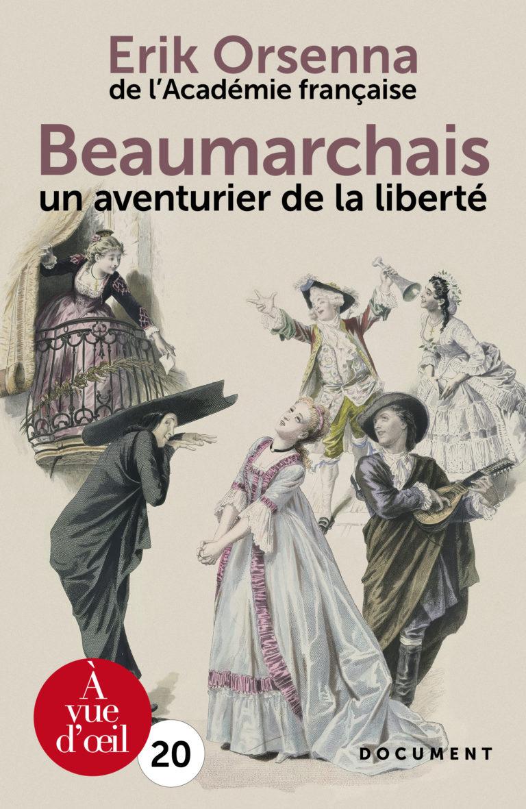 Couverture de l'ouvrage Beaumarchais, un aventurier de la liberté