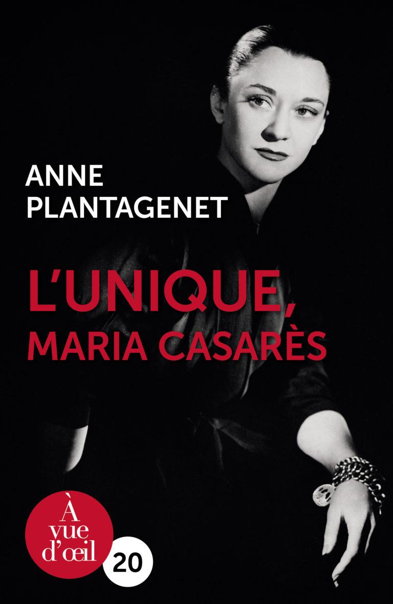 Couverture de l'ouvrage L'Unique, Maria Casarès